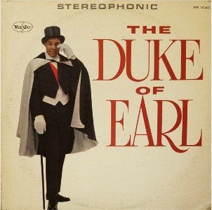 This is the original Duke of Earl Stereo LP record, catalog number SR 1040.
