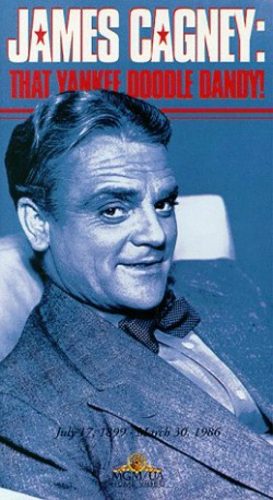 James Cagney was paid the highest compliment by the man he portrayed in the movie Yankee Doodle Dandy.