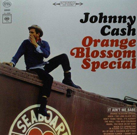 Johnny Cash Orange Blossom Special vinyl record memories from 1965.