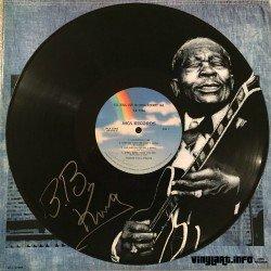 The great Blues player B.B. King.