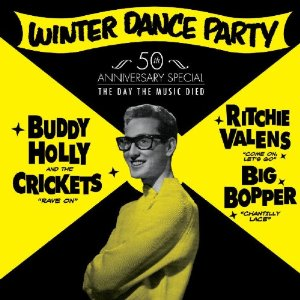 Vinyl Record Memories, the Winter Dance Party and those who died in 1959.