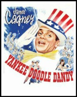 Movie poster for Yankee Doodle Dandy.